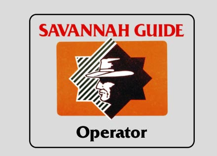 Savannah Guide Operator